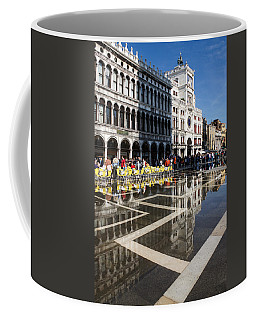 Coffee Mug featuring the photograph Postcard From Venice by Georgia Mizuleva