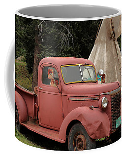Coffee Mug featuring the photograph Postcard From Yesterday by Lynn Sprowl