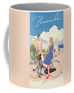 Poster Advertising Bermuda Coffee Mug