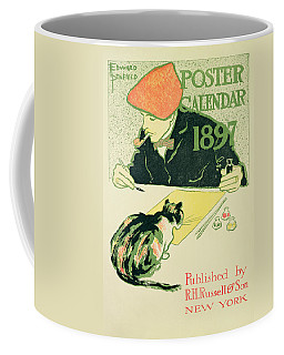 Poster Calendar, Pub. By R.h. Russell & Son, 1897 Colour Litho Coffee Mug