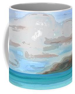 Posterized Landscape Alaska  Coffee Mug