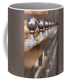 Coffee Mug featuring the photograph Posts by Lora Lee Chapman