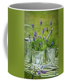 Pots Of Lavender Coffee Mug