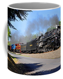 Powerful Nickel Plate Berkshire Coffee Mug