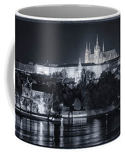 Prague Castle At Night Coffee Mug
