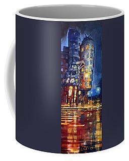 Prague Dancing House  Coffee Mug