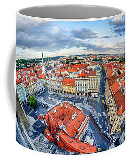 Prague From Above Coffee Mug