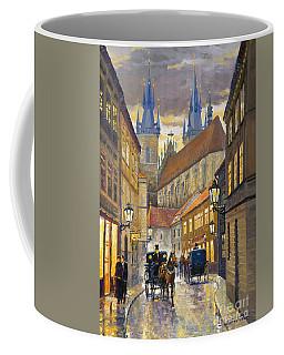 Prague Old Street Stupartska Coffee Mug