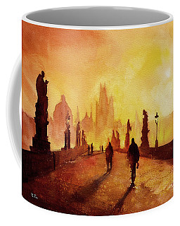 Prague Sunrise Coffee Mug by Ryan Fox