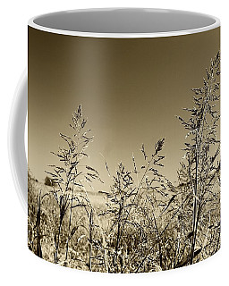 Prairie Grass Coffee Mug by Ellen O'Reilly