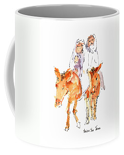 Praise You Jesus Watercolor Painting By Kmcelwaine Coffee Mug