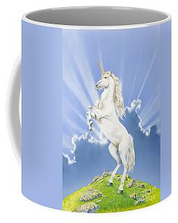 Prancing Unicorn Coffee Mug