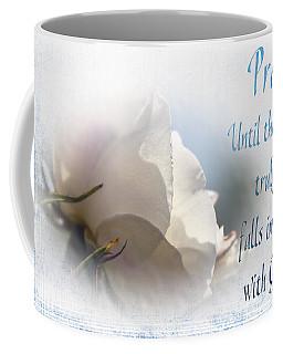 Coffee Mug featuring the photograph Pray For Love by Jean OKeeffe Macro Abundance Art