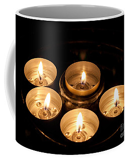 Prayer Candles In Notre Dame Coffee Mug