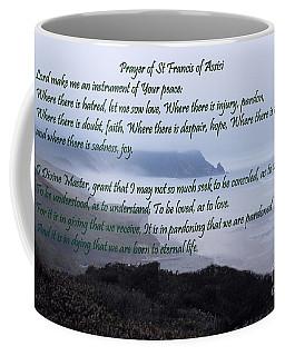 Prayer Of St Francis Of Assisi Coffee Mug