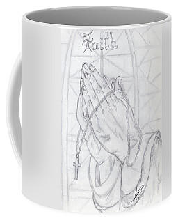 Praying Hands Coffee Mug