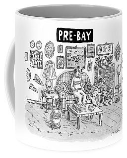 Pre-bay -- A Man Sits In Living Room Full Coffee Mug