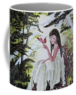 Coffee Mug featuring the painting Precious Blessing by Dianna Lewis