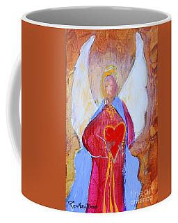 Precious Heart Angel Coffee Mug