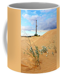Precision Rig 10 Near Monahans Coffee Mug by Lanita Williams