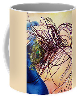 Preening For Attention Sold Coffee Mug by Lil Taylor