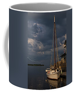 Preparing For The Storm Coffee Mug