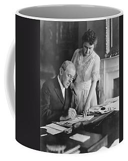 President And Mrs. Woodrow Wilson Coffee Mug