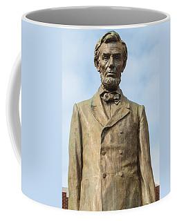 President Lincoln Statue Coffee Mug