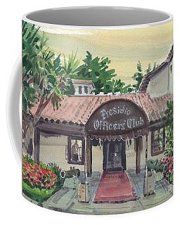 Presidio Officers' Club Coffee Mug