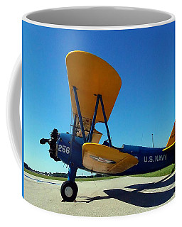 Preston Aviation Stearman 001 Coffee Mug