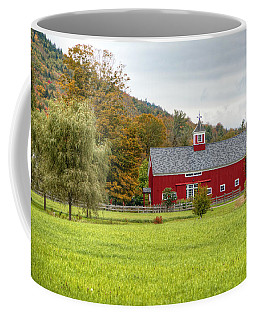 Prettiest Barn In Vermont Coffee Mug