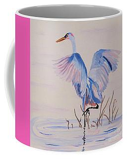Pretty Crane Coffee Mug by Phyllis Kaltenbach
