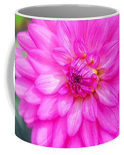 Pretty In Pink Dahlia Coffee Mug