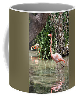 Pretty In Pink Coffee Mug by John Telfer