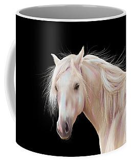 Pretty Palomino Pony Painting Coffee Mug