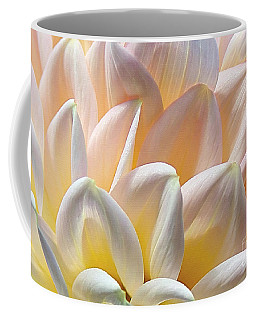 Pretty Pastel Petal Patterns Coffee Mug by Kaye Menner