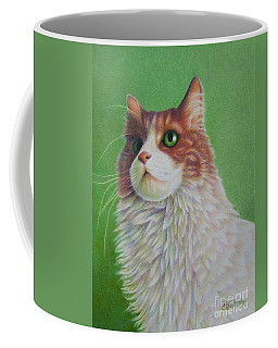 Coffee Mug featuring the painting Pretty Penny by Pamela Clements