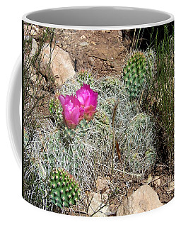 Coffee Mug featuring the photograph Prickly Pear by Charles Robinson