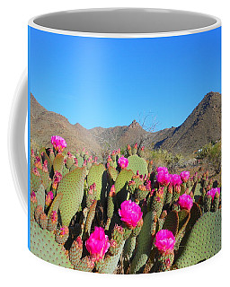 Prickly Pear In Spring Coffee Mug