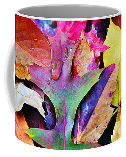 Coffee Mug featuring the photograph Primary Colors Of Fall by Judy Palkimas
