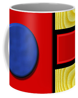 Coffee Mug featuring the digital art Primary Motivations 1 by Wendy J St Christopher
