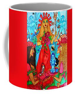 Coffee Mug featuring the painting Princess Countrywoman. by Don Pedro De Gracia