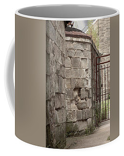 Prison Yard Coffee Mug by Patrice Zinck