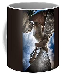 Pritchard Park Art Is Looking Up Coffee Mug by John Haldane