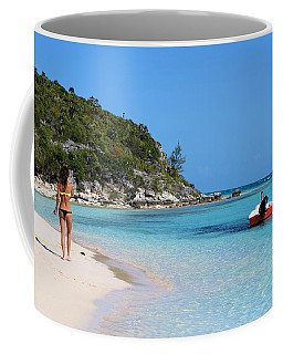 Private Beach Bahamas Coffee Mug