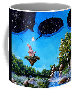 Private Space... Coffee Mug by Mariusz Zawadzki