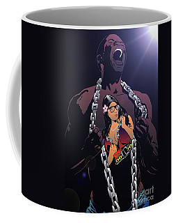 Coffee Mug featuring the digital art Professor Faulty Cover by Justin Moore
