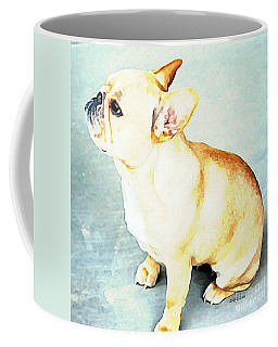 Profile In Frenchie Coffee Mug