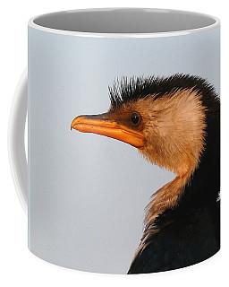 Profile Of A Young Cormorant Coffee Mug