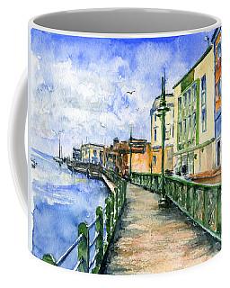 Promenade In Barbados Coffee Mug